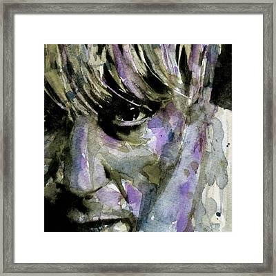 Wide Eyed Boy From Freecloud Framed Print
