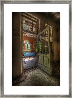 Wide Open Framed Print by Nathan Wright