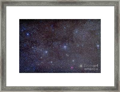 Widefield View Of The Constellation Framed Print by Alan Dyer