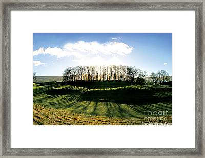 Wider Visions - Going Beyond Framed Print by Mike Hoyle