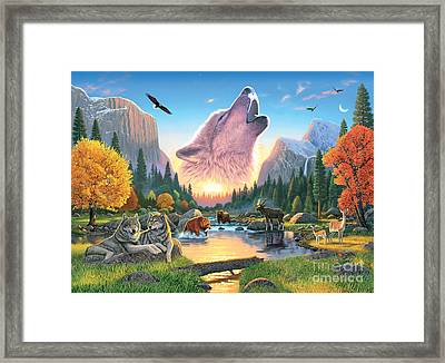 Widerness Harmony Framed Print by Chris Heitt