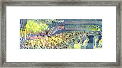 Widespread Panic At The Hard Rock Vegas Framed Print by David Sockrider
