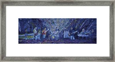 Widespread Panic Painted Live Two Framed Print by David Sockrider