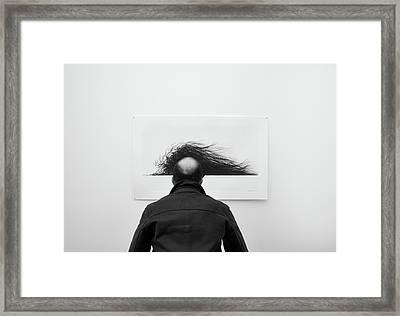 Wig Framed Print by Jorge Pena
