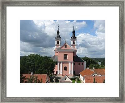Wigry Camedule Church Framed Print by Agata Suchocka-Wachowska