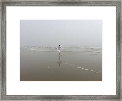 Wilbur By The Sea 1 Framed Print by Lisa Piper