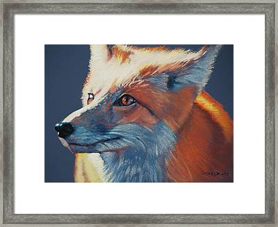 Wilbur Fox Framed Print
