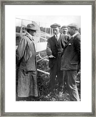 Wilbur Wright, 1908 Framed Print by Science Source