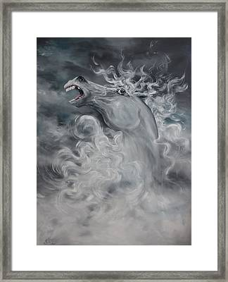 Framed Print featuring the painting Wild And Free by Jean Walker