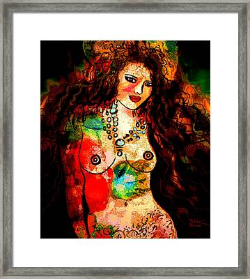 Wild And Free Framed Print by Natalie Holland
