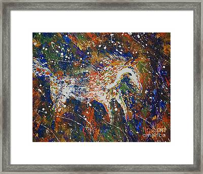 Wild And Free Framed Print by Tamyra Crossley