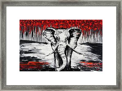 Wild And Gentle Framed Print
