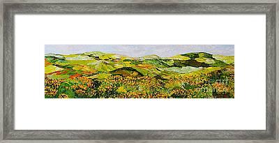 Wild And Robust Framed Print by Allan P Friedlander