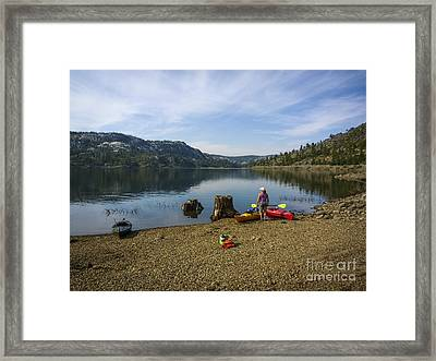 Wild And Scenic Framed Print by Cheryl Wood