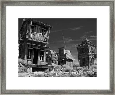 Wild Ass Saloon Framed Print by Janice Westerberg