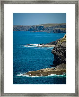 Wild Atlantic Coast Framed Print