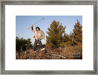 wild Barbarian Attack 1 Framed Print