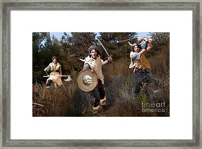 wild Barbarian Attack 2 Framed Print