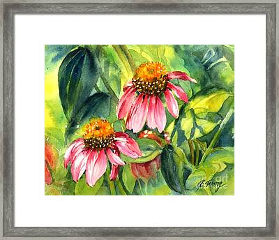 Wild Beauty Framed Print by Betty M M   Wong