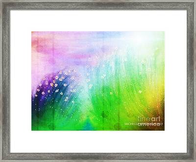 Wild Beauty Framed Print by Michelle Bentham