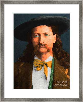 Wild Bill Hickok 20130518 Framed Print by Wingsdomain Art and Photography
