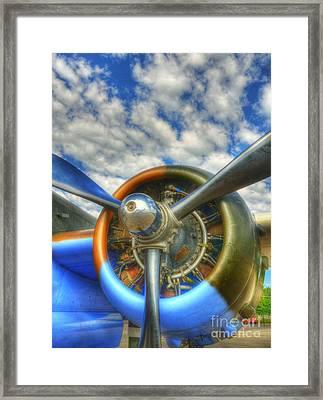 Wild Blue Yonder 3 Framed Print