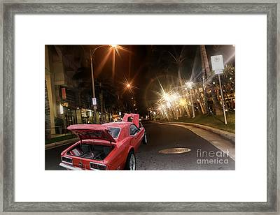 Wild Camaro Framed Print
