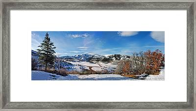 Wild Cat Ranch - Snowmass Framed Print