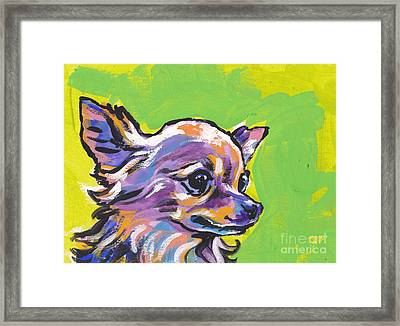 Wild Chi Framed Print by Lea S