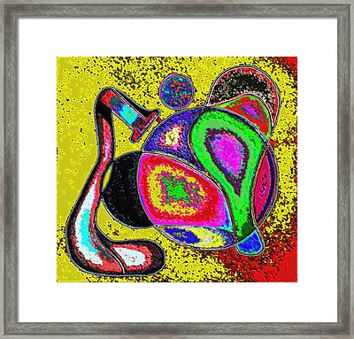 Wild Colors Framed Print by George Curington