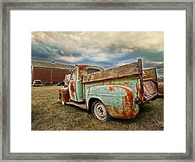 Wild Country Framed Print