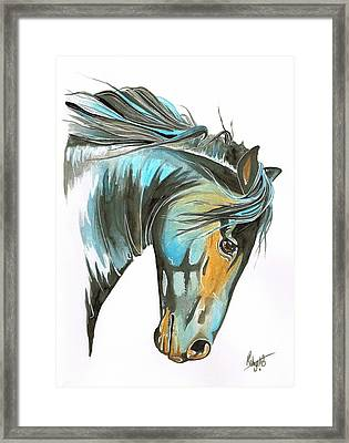 Wild Courage Framed Print by Robyn Green
