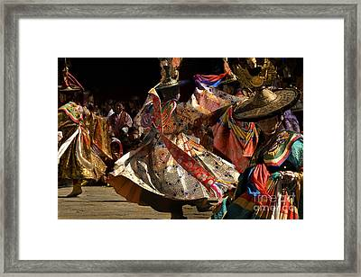 Framed Print featuring the digital art Wild Dance by Angelika Drake