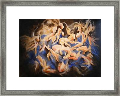 Wild Dance Framed Print