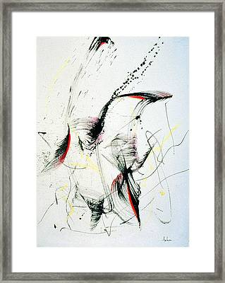 Wild Dancing Framed Print by Asha Carolyn Young