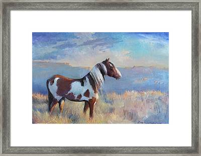 Wild Domain Framed Print by Gwen Carroll