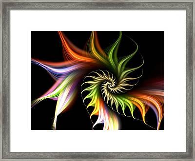 Wild Flower Framed Print by Anastasiya Malakhova