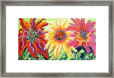 Wild Flowers Framed Print by Isabelle Gervais