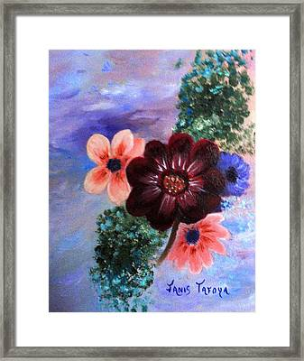 Wild Flowers Framed Print by Janis  Tafoya