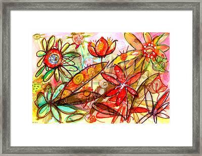 Wild Flowers Series #1 Framed Print by Niya Christine