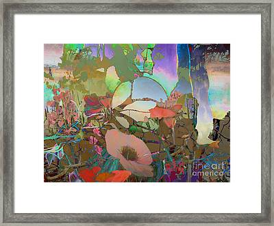 Wild Flowers Framed Print by Ursula Freer