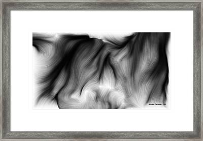 Wild Hair 1 Framed Print by German Calderon
