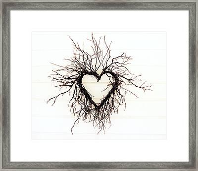 Wild Heart Framed Print