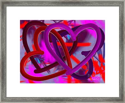Wild Hearts Framed Print