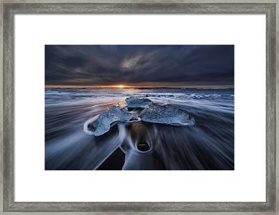 Wild Ice II Framed Print
