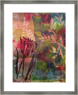 Wild Iris Framed Print by Cynthia Lagoudakis