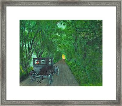 Wild Irish Roads Framed Print