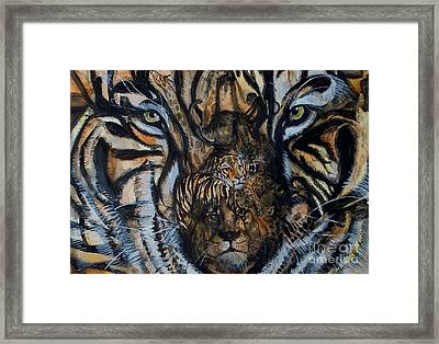 Wild Framed Print by Laneea Tolley