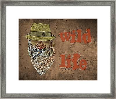 Wild Life Framed Print