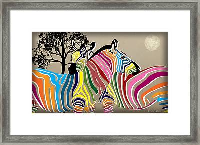 Wild Love 2 Framed Print by Mark Ashkenazi